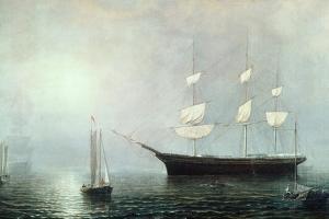 Ship Starlight, C.1860 by Fitz Henry Lane