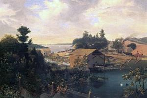 The Mill at Lanesville, 1849 by Fitz Henry Lane