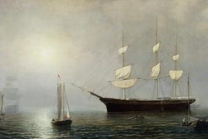 The Ship Starlight, C.1860 by Fitz Henry Lane