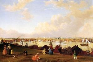 View of Baltimore, C.1850 by Fitz Henry Lane