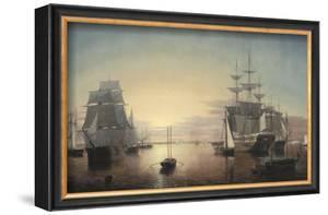 Boston Harbor, c.1855 by Fitz Hugh Lane