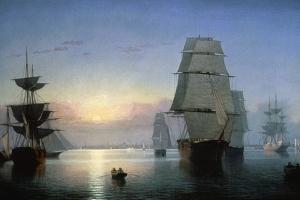 Lane: Boston Harbor by Fitz Hugh Lane