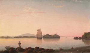 Owl's Head, Penobscot Bay, Maine, 1862 by Fitz Hugh Lane
