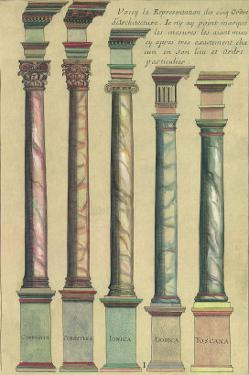 Five Architectural Orders, 1550