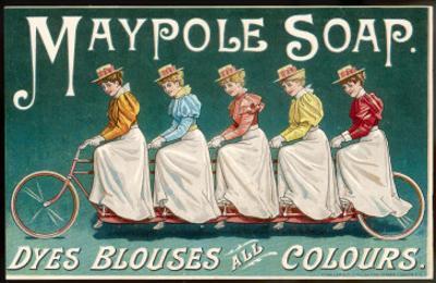 Five Ladies on One Bike