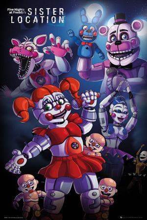 Five Nights at Freddy's- Sister Location Group