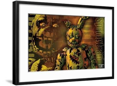 Five Nights at Freddy's - Springtrap--Framed Poster
