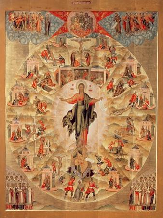 Apostle Preaching (Tempera on Panel)