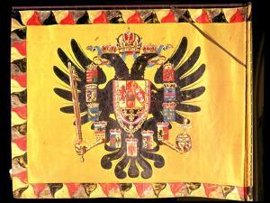 Flag of the Imperial Habsburg Dynasty, circa 1700