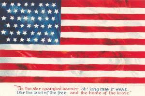 Flag with Poem