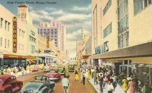 Flagler Street, Miami, Florida