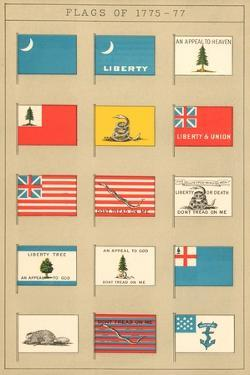 Flags of 1775-77