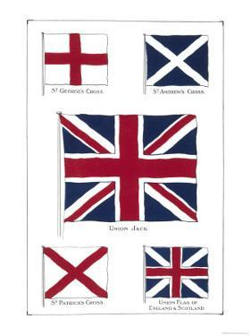 Flags of the United Kingdom, The Union Jack and Its Components