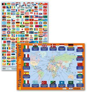 Flags of the World Poster Set