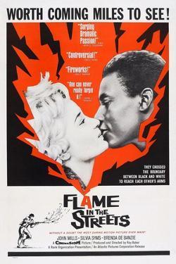 Flame in the Streets, Sylvia Syms, Johnny Sekka, 1961