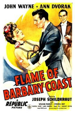 Flame of The Barbary Coast, Ann Dvorak, John Wayne, Joseph Schildkraut, 1945
