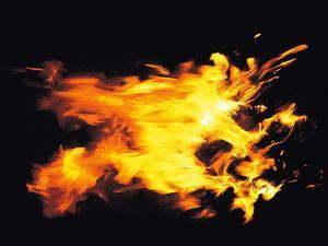 Flames of Fire, Studio Shot