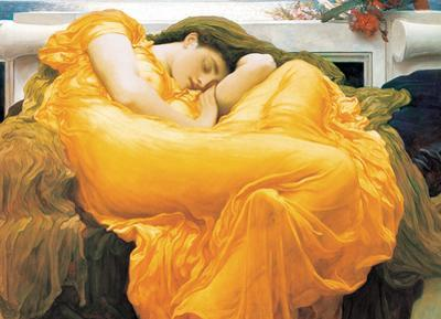 Flaming June by Lord Frederic Leighton 1000 Piece Puzzle
