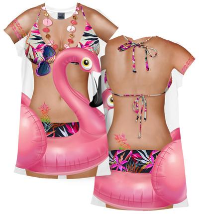 Flamingo Cover-Up