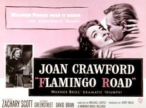 Flamingo Road, Joan Crawford, David Brian, 1949