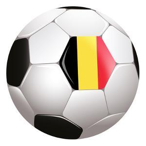 Soccerball with Country Flag by Flarextius
