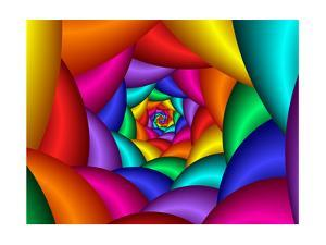 70's Psychedelic Spiral by flArk