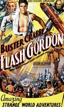 Flash Gordon, Jean Rogers, Larry 'Buster' Crabbe, Charles Middleton, 1936