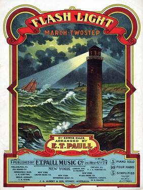 """""""Flash Light"""" from the Sheet Music Collection at National Museum of American History"""