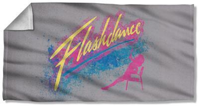 Flashdance - Drop Beach Towel