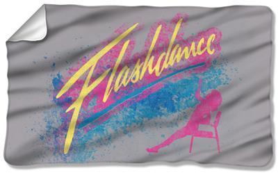 Flashdance - Drop Fleece Blanket