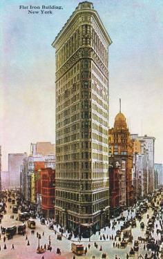 Flat Iron Building, New York City