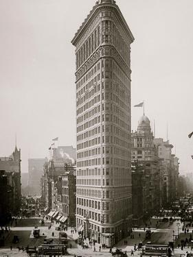 Flat-Iron I.E. Flatiron Building, New York, N.Y.
