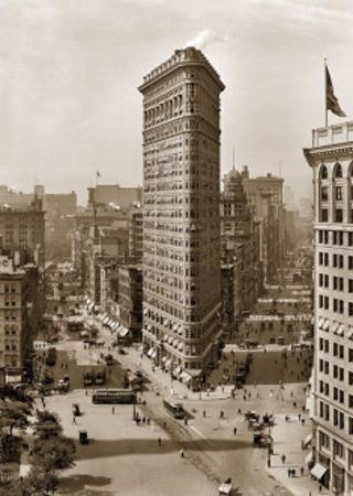 Flatiron Building, c.1912 (sepia)
