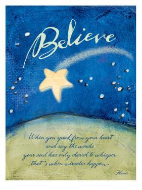 Believe in Miracles by Flavia Weedn