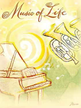 Life's Music by Flavia Weedn