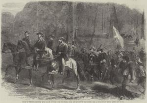 Flight of President Jefferson Davis and His Ministers over the Georgia Ridge