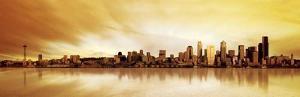 Golden Skyline by Fline