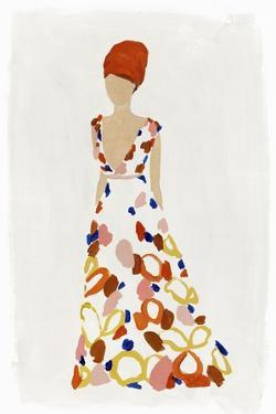 Floral Fashion III by Isabelle Z