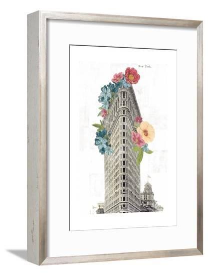 Floral Flat Iron-Wild Apple Portfolio-Framed Art Print