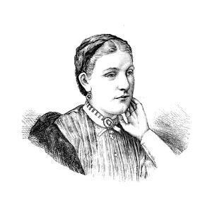 Florence Baker, Wife of English Explorer and Anti-Slavery Campaigner Samuel White Baker, 1870