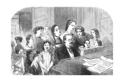 A Singing Lesson at Minerva House, 1863