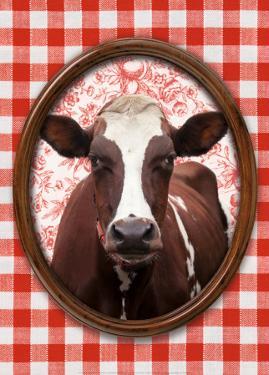 Portrait de Vache by Florence Deviller