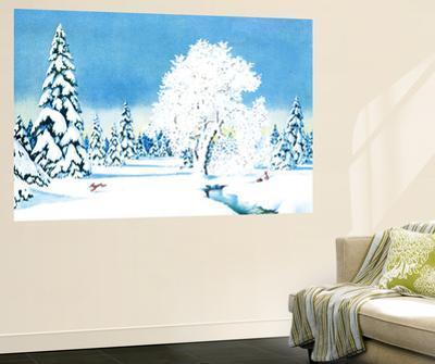 Winter Wonderland - Jack & Jill by Florence McCurdy