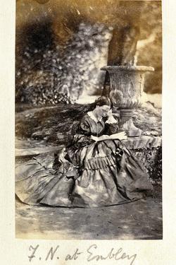 Florence Nightingale at Embley Park, 1858
