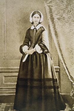 Florence Nightingale, English Nurse and Hospital Reformer, C1850S