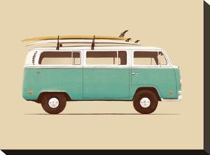 Blue Van by Florent Bodart