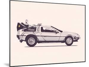 Delorean Back To The Future by Florent Bodart