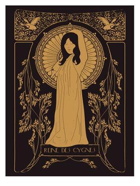Reine Des Cygnes Golden by Florent Bodart