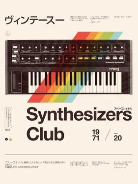 Synthesizers Club by Florent Bodart