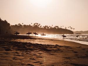 Surfin' Sunset by Florian Schleinig